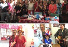 Birthday and International Women's Day celebrations