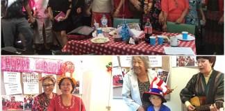 Birthday and International Women's Day celebrations