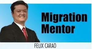 Migration Mentor Felix Carao