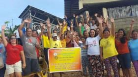 Turn Over of Rescue Boat to Small Fisherman Folks, Bayas Island, Estancia, Iloilo