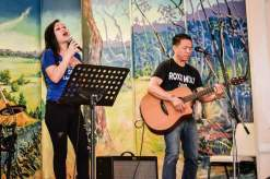 Stifany Chung and Raul Roxas of Roxx Mix Duo