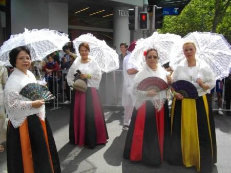 Filipino-Australian contingent participates at the Australia Day 2018 parade in Melbourne. 4