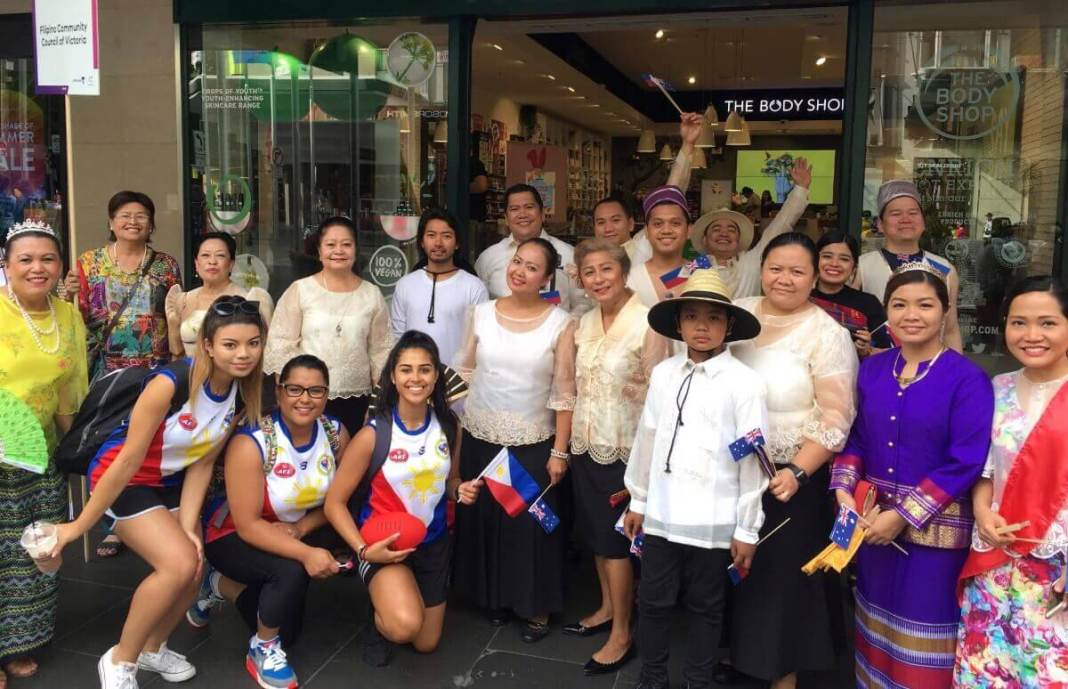Filipino-Australian contingent participates at the Australia Day 2018 parade in Melbourne.