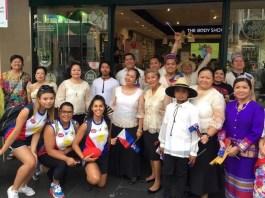 Filipino-Australian contingent participates at the Australia Day 2018 parade in Melbourne.