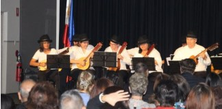 Rondalla group from Darwin