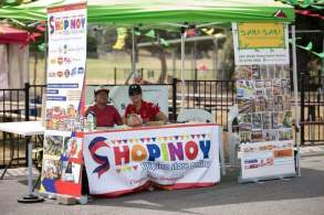 Shopinoy stall at the Philippine Festival held in Rowvile, Victoria on March 17-18, 2018.