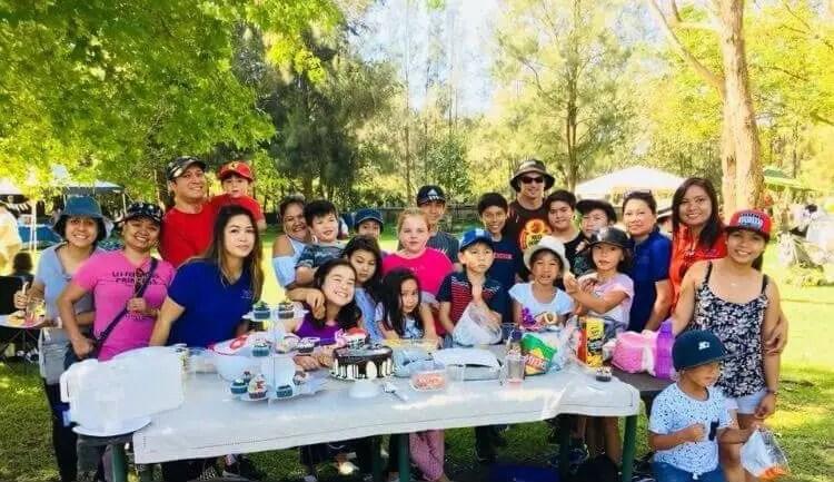 Filipino community cultural class