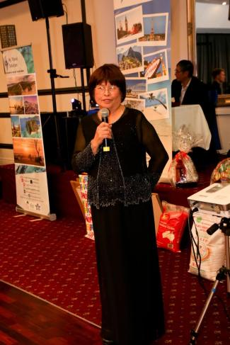 FEGTA 32nd Anniversary Ball Perla Luetic guest speaker