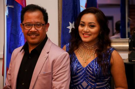 FEGTA 32nd Anniversary Ball emcees