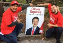 Malvern Labor volunteers