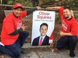 Malvern Labor volunteers