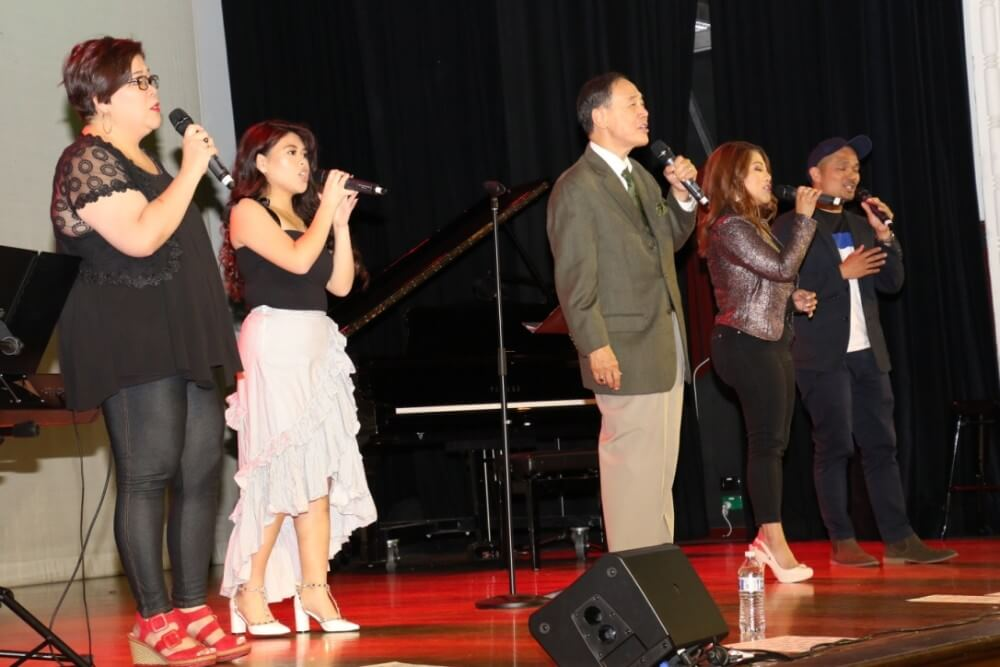 Jose Mari Chan held a concert in Melbourne.