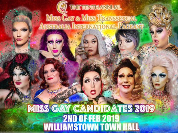 Miss Gay Candidates 2019