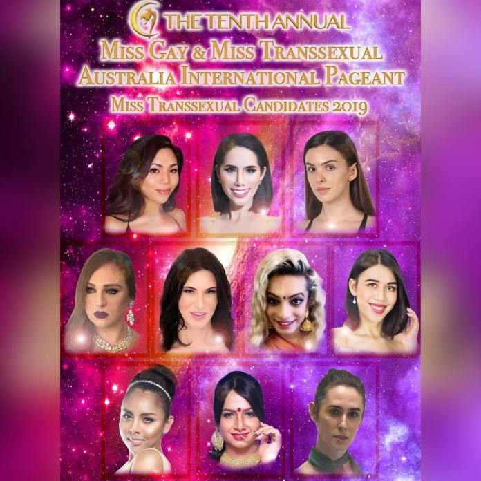 Miss Transsexual Candidates 2019