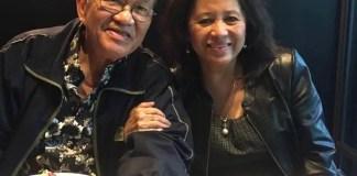 Lorna Ramirez with husband