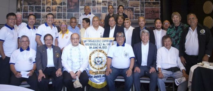 Consul General Ezzedin Tago, KGOR with member Knights of Rizal of the Sydney, Canberra, Western Sydney and Northern Sydney chapters