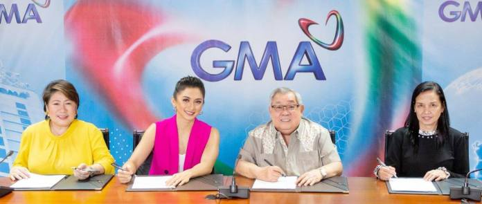 Iya Villania at contract signing with GMA Network Oct 22, 2019