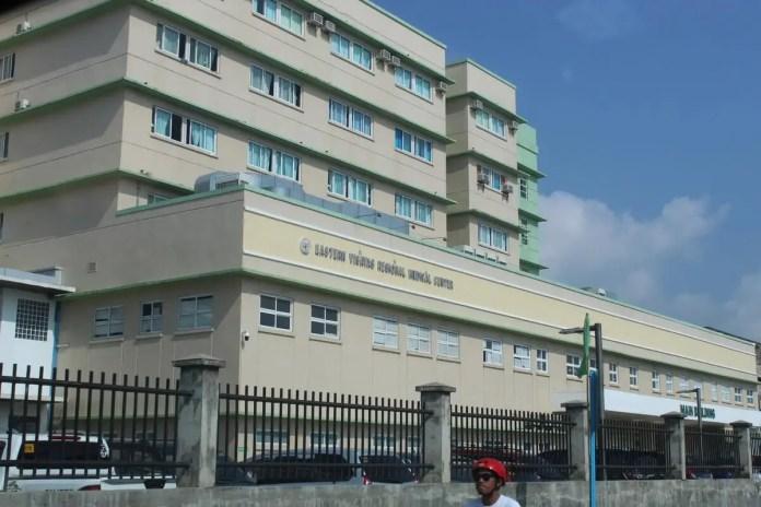 The new and bigger Eastern Visayas Regional Medical Centre