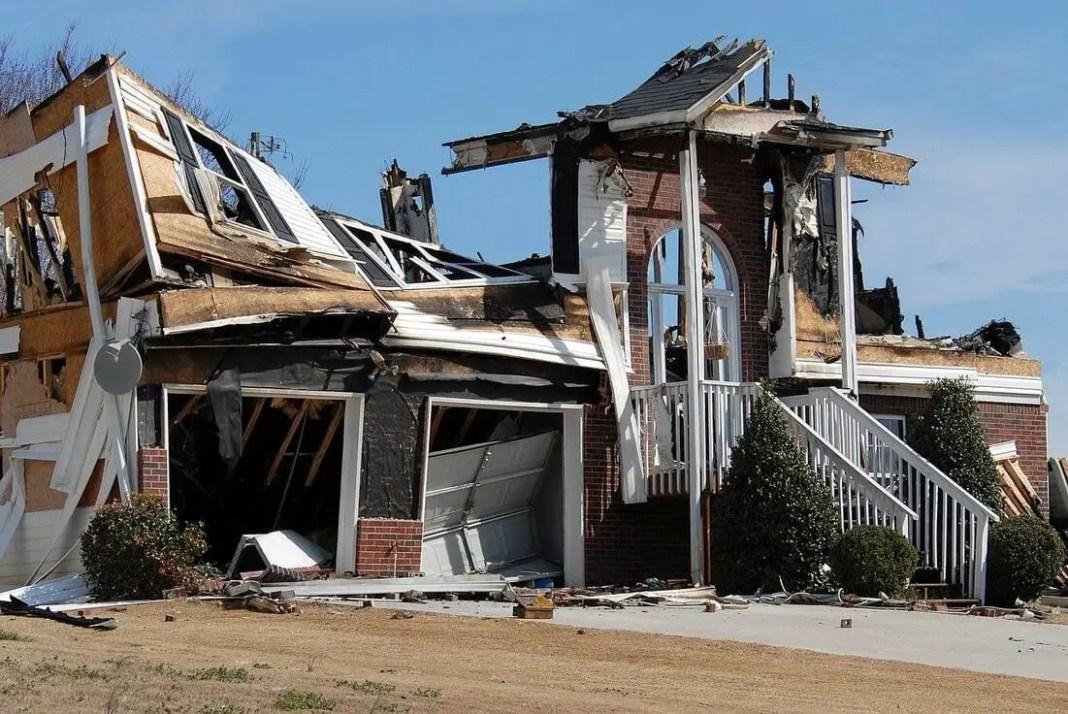 burned property | fire damage