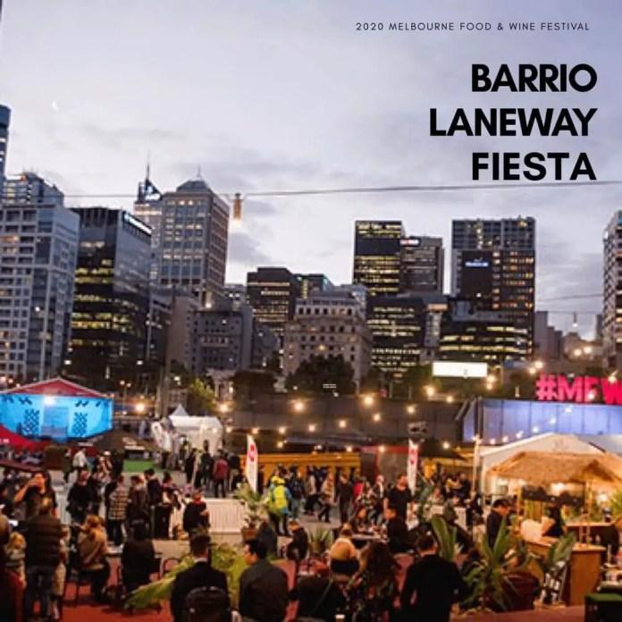 Barrio Laneway Fiesta