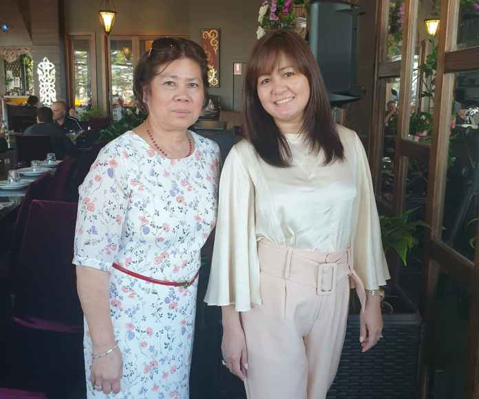 HAHCC founders Lydia John (left) and Anne Razon