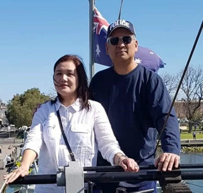Tony Bustamante and wife Jeanie
