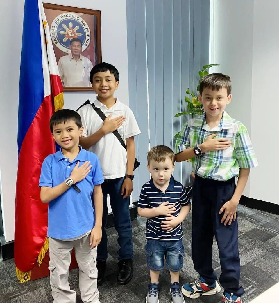 Australian-Filipino Youth at the Philippine Consulate General in Sydney | Photo: Irene Gina Paulino