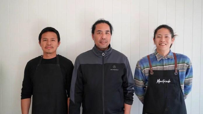 Mantecado team with owner Mollet Binghay