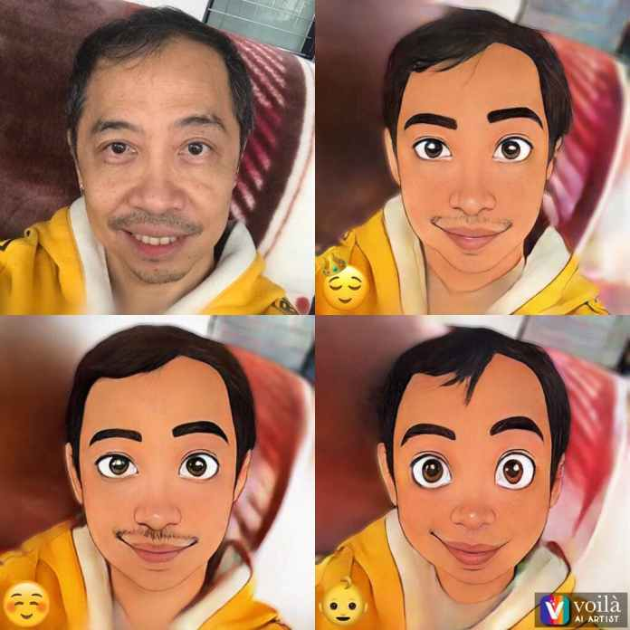A 3D cartoon of Fil-Aussie and Sandok Production artistic director Chito Javier