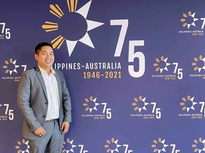 Mark Anthony Santos has said that his experience as an international student has moulded him to help people and give advice to students on their pathways to becoming Australian citizens.