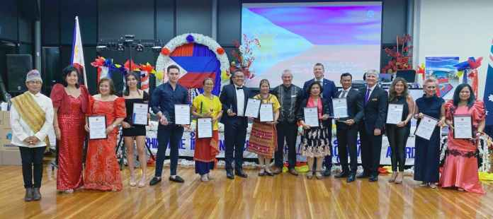 Philippine Independence Day winners at the annual FSCCSA dinner dance at Thebarton Community Centre