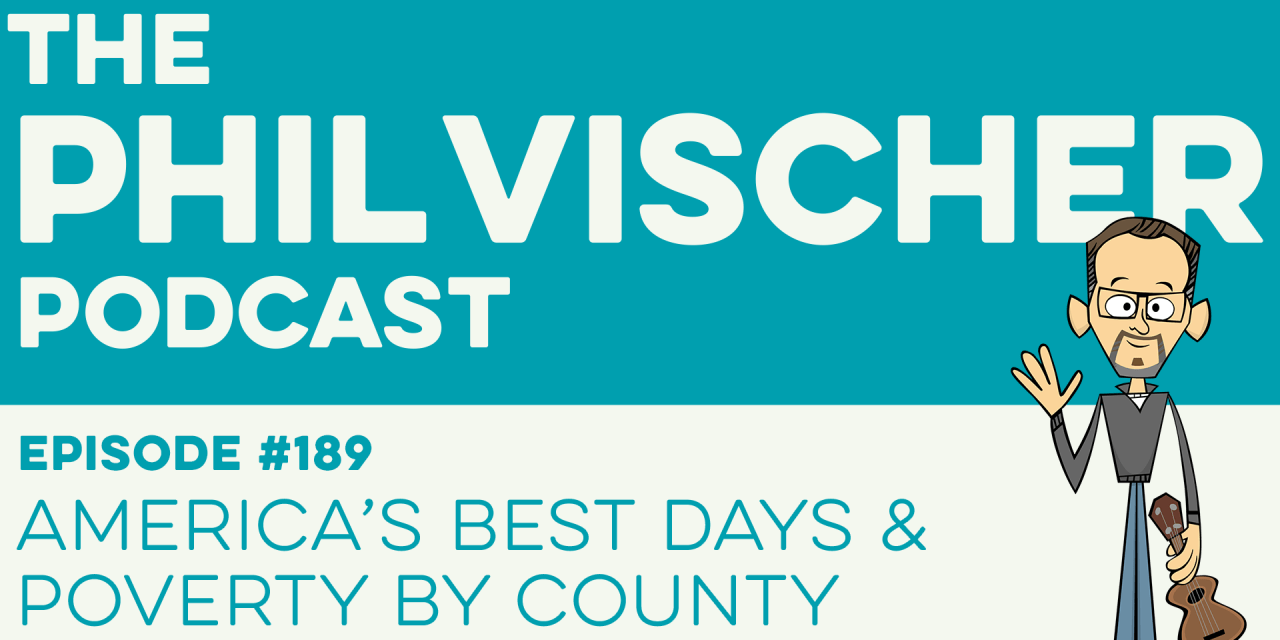 Episode 189: America's Best Days – Poverty By County
