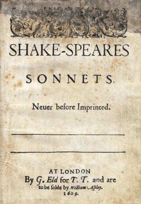 The original 1609 Quarto edition