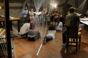 Audiences and performers shared the same space