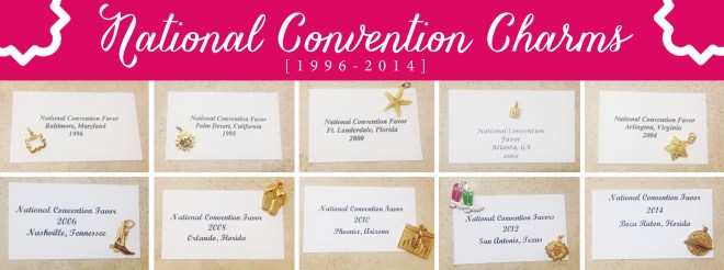 National Convention Charms