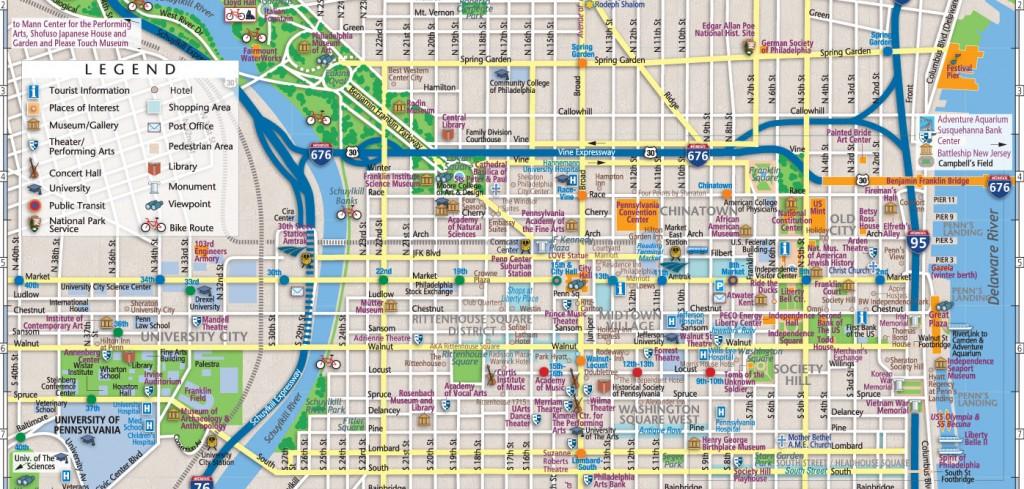 Philadelphia map theaters