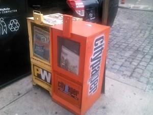 Philadelphia City Paper box