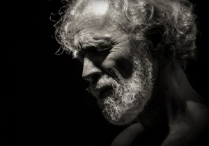 Chris Coucill as Timon in PAC's TIMON OF ATHENS. (Photo credit: David Comdico.)