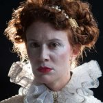 Krista Apple-Hodge as Queen Elizabeth I. (Photo credit: Plate3Photography)