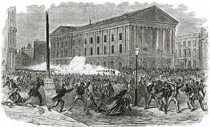 Astor Place riots: when theater was REALLY meaningful.