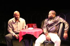 Lindsay Davis with Akeem Davis as Bernard 1.