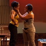 imé Donna Kelly and Lynnette R. Freeman in THE DANGEROUS HOUSE OF PRETTY MBANE.