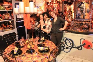 Daughter Tarra, Denise Shubin, holding Lady Bug & daughter Gina, October 2014