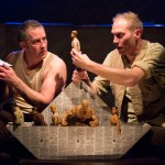 Visible Fictions' Tim Settle and Simon Donaldson perform JASON AND THE ARGONAUTS at People's Light (Photo credit: Mark Garvin)