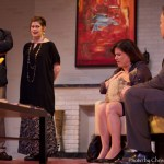 John Jackowski, Jessica Doheny, Maureen Corson, and Paul McElwee star in Ritz Theatre Company's GOD OF CARNAGE (Photo credit: Chris Miller)