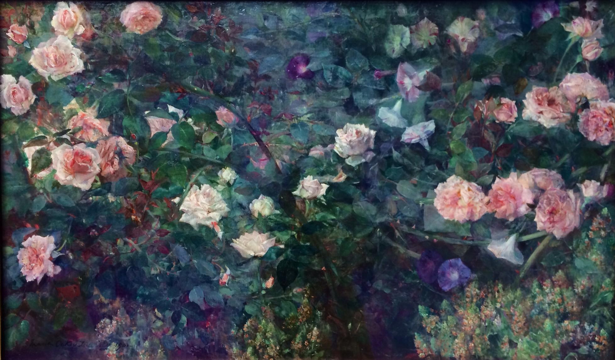 Gardens By Maria: The Artist's Garden (PAFA): Watch The Women Bloom