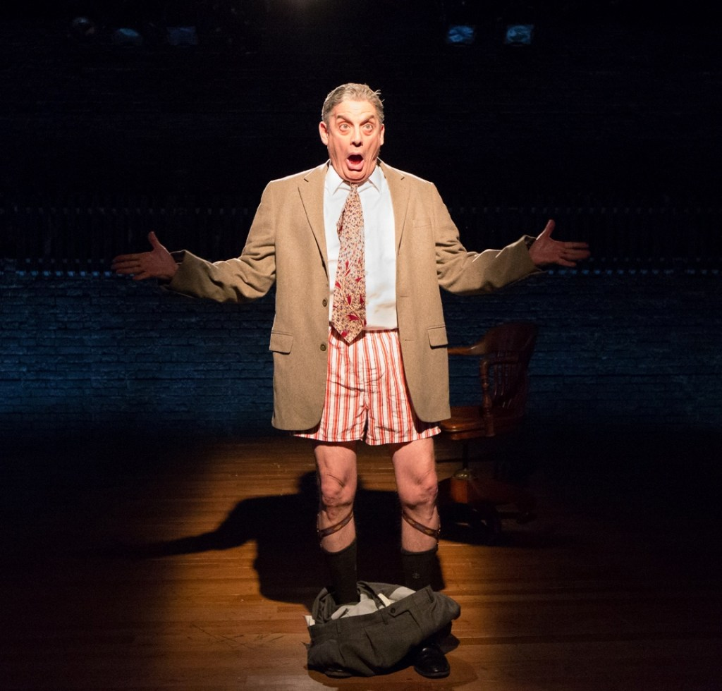 Carl N. Wallnau stars as comic Chick Sherman in Arden Theatre Company's FUNNYMAN (Photo credit: Mark Garvin)