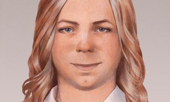 Chelsea Manning portrait by Alicia Neal.