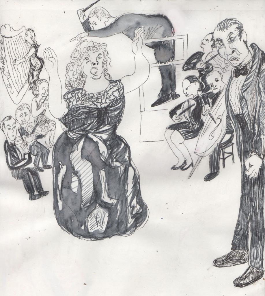 scene from BLUEBEARD'S CASTLE