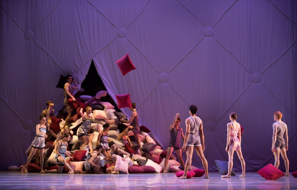 Reaction-1564: Artists of Pennsylvania Ballet in Matthew Neenan's Somnolence Photo Credit: Alexander Iziliaev